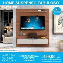 Home Suspenso Fabuloso 1,60m para TV até 60?