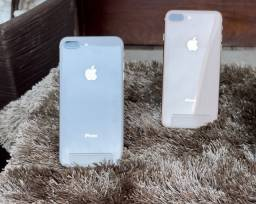 iPhone 8 Plus silver e Gold 64gb (R$ 2050,00)