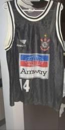 Camisa basquete Corinthians anos 90 Original