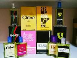 10 perfumes Importados 50ml