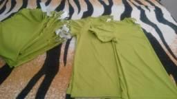 Camisas Verdes Novas Para Confecção de Uniforme Esportivo ou Fardamentos! e109b7e701710