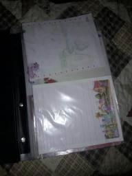Coleção de papéis de carta
