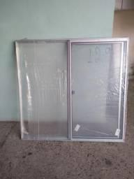 Oportunidade janelas de alumínio novas