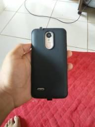 Vendo celular LG K8 novo