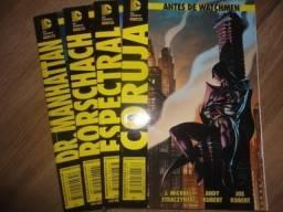 HQs Antes de Watchmen vol.01 ao 04 - Semi-novo Panini