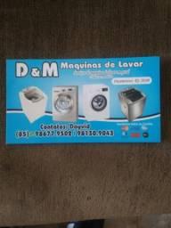 D&M máquinas de lavar *tecnicodayvid