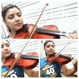 Aula de violino violão e canto Manaus