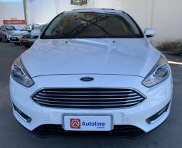 ? ford focus hatch titanium plus 2.0 flex ano 2016/2016 (apenas 14.000 km) - 2016