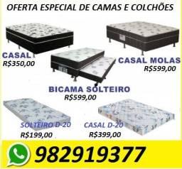 Mega Promoção de Camas Box e Colchões Novas Embaladas Apartir de 199,00