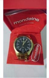 Relógio Analógico Masculino Dourado Mondaine 935ad4ee0e6ac