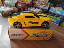 Transformer Camaro amarelo