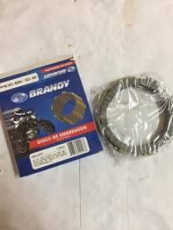 Jogo de Disco de Embreagem CG125/150 todas Brandy