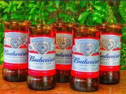 Vendo Jogo de 6 copos da BudWeiser 250ml !!!