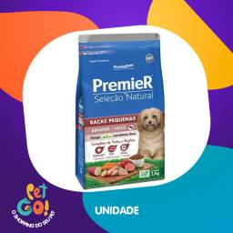 Ração Premier Pet Seleção Natural Raças Pequenas Cães Adultos Frango Korin com Batata Doce