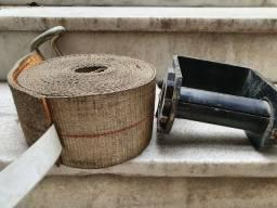 Catracas para amarração com cintas