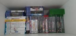 Jogos em midia fisica, xbox, PS3, PS4 e Nintendo