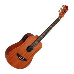 R$ 750,00 Tagima Baby Mohogane cordas de aço, violão semi novo com garantia