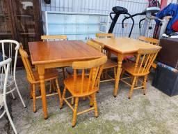 Vendo conjunto de mesa 4 cadeiras
