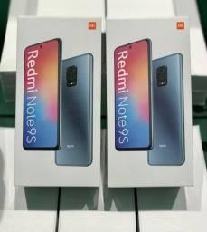 Xiaomi note 9s 128gb 6gb ram lacrado, zero