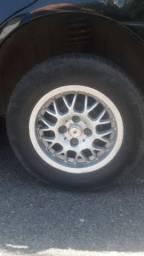 Troco rodao com pneu 13 por roda pneu 14