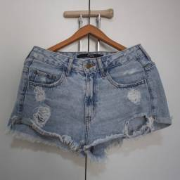 Short jeans boyfriend (tamanho 38)