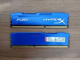 Memória RAM Hyperx Fury Blue