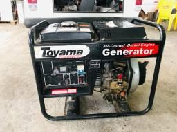 Gerador a diesel TOYAMA 3,8kva