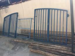 Porta, Portão e grade