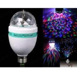 Lampada Bola Maluca giratoria led rgb