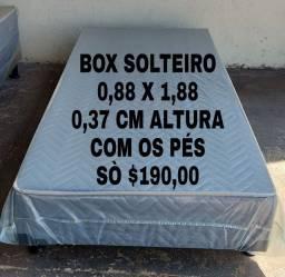 OFERTA CAMA BOX BASE SOLTEIRO FRETE GRATIS REGIÃO ATÉ 25 KM