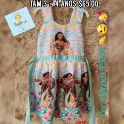 Vestido infantil Parintins-Am