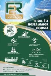 Energia Solar é na F2R Solar Tech ! Financiamento em até 60x
