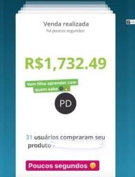Que ganhar de 30 a 300 reais usando apenas seu celular ? Min chama no ZAP *