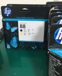 Cabeça de impressão HP 88 Amarelo/Preto Original