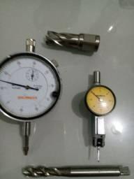 Relógio comparador e apalpador