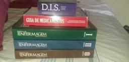 Livros de enfermagem novinhos