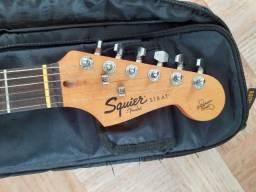 Guitarra Fender Squier Califórnia séries + Sof case Rock Bag/relíquia anos 90...