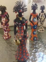 Bonecas de Olinda em cerâmica 23cm