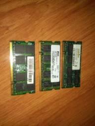 Memória RAM DDR2 pra notebook