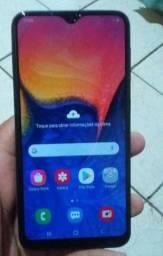 Samsung a 10 em estado de zero, novissimo