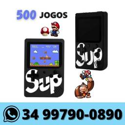 Mini Game Portátil 500 Jogos Retrô Clássico