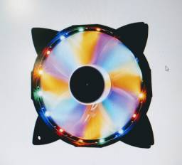 Cooler Fan OEX Game F30 16 LED Colorido, 12cm