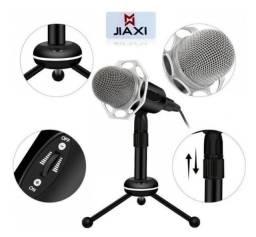 Microfone Condensador Para Pc Áudio - Jiaxi Sf-403 - cód. 25648