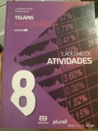 Livro <br>Teláris - Matemática - 8º ano<br><br>3ª Edição<br><br>