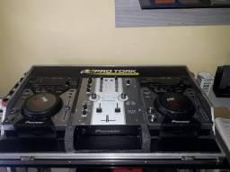 Cdjs  e mix  Pioneer  somente  uso  caseiro