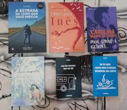 Livros usados, mas em ótimas condições