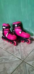 Patins Roller Radical rosa