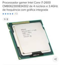 Processador gamer Intel Core i7-2600 CM *4302 de 4 núcleos e 3.4GHz
