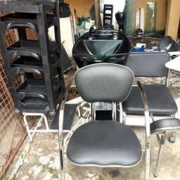 vendo móveis de salão barato
