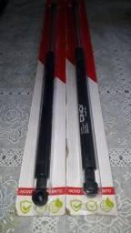 Amortecedores da tampa traseira da palio weekend 96 á 2007 novos da marca cinoy á gas.